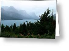 Wild Goose Island In The Rain Greeting Card
