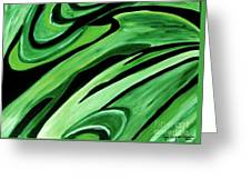 Wild Green Greeting Card