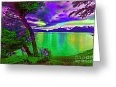 Wild Lake Greeting Card