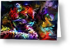 Wild Puma Colors Greeting Card