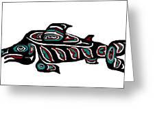 Wild Salmon Greeting Card