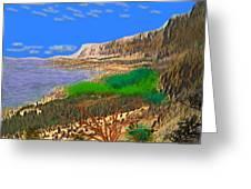 Wild Seashore Greeting Card