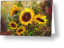 Wild Sun Greeting Card