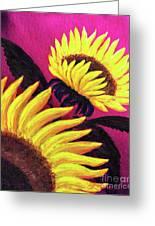 Wild Sunflowers Greeting Card