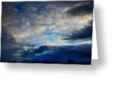 Wild Sunset Greeting Card