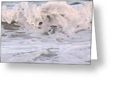 Wild Surf Greeting Card