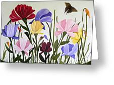 Wild Tulips Greeting Card