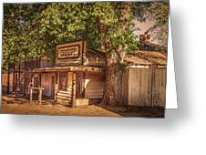 Wild West Sheriff Office Greeting Card