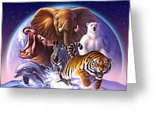 Wild World Greeting Card