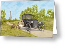 Wildcatters Greeting Card