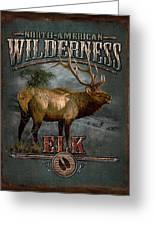 Wilderness Elk Greeting Card by JQ Licensing