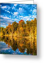Wilderness Pond - Paint Greeting Card