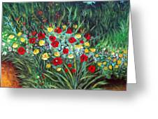 Wildflower Garden 1 Greeting Card