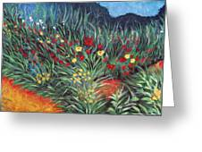 Wildflower Garden 2 Greeting Card
