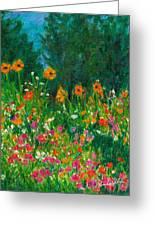 Wildflower Rush Greeting Card