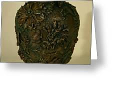 Wildflower Vase Detail Greeting Card