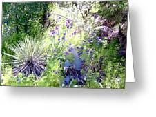 Wildflowers And Cactuses Greeting Card