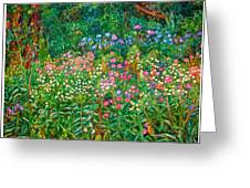 Wildflowers Near Fancy Gap Greeting Card