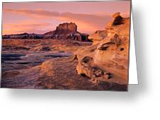Wildhorse Butte Greeting Card