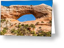 Wildon Arch In Utah Greeting Card