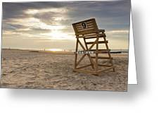 Wildwood Crest New Jersey Sunrise Greeting Card
