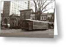 Wilkes Barre Pa Public Square Oct 1940 Greeting Card