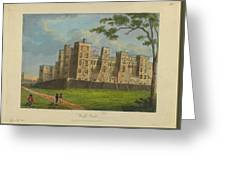 Wilkinson, Robert  58 Cornhill Windsor Castle Published 7 Aug 1813 Greeting Card