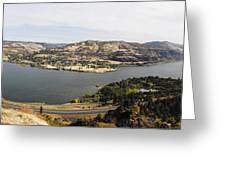 Willamette Valley Panorama Greeting Card