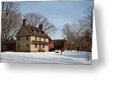 William Brinton House 1704 Greeting Card