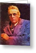 William Butler Yeats, Literary Legend Greeting Card