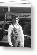 William Galloway  Greeting Card