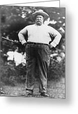 William Howard Taft Greeting Card
