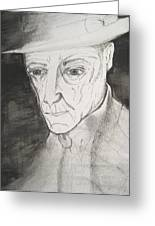 William S. Burroughs Greeting Card