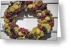 Williamsburg Wreath 29 Greeting Card