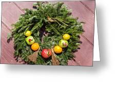 Williamsburg Wreath 54 Greeting Card