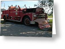 Willig Collection 6 Fire Truck Greeting Card
