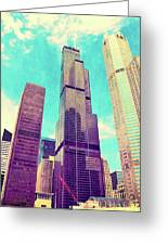 Willis Tower - Chicago Greeting Card