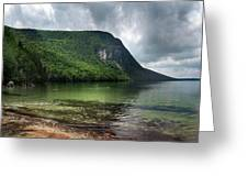 Willoughby Lake In Westmore Vermont Greeting Card