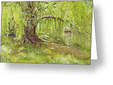 Willow Swing Greeting Card