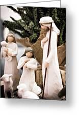 Willow Tree Nativity At Christmas Greeting Card