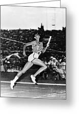 Wilma Rudolph (1940-1994) Greeting Card by Granger