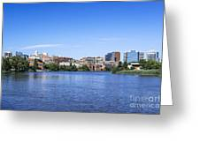 Wilmington Skyline Greeting Card