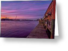 Wilmington Waterfront Greeting Card