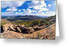 Wilpena Pound And St Mary Peak Greeting Card