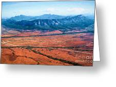 Wilpena Pound  Eh Greeting Card