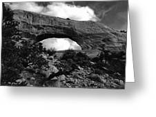 Wilson Arch No 1 Greeting Card