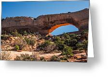 Wilson Arch Greeting Card