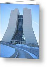 Wilson Hall At Fermilab Greeting Card