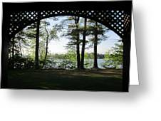 Wilson Pond Framed Greeting Card