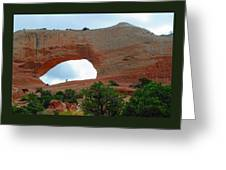 Wilson's Arch Greeting Card
